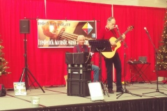 Valley Mall Holiday Show - Todd Walker with David Dishneau on percussion Also Sammi J performed.