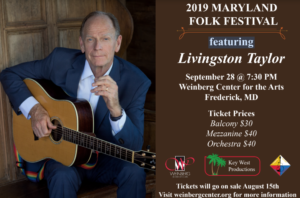 2019 Maryland Folk Festival @ Weinberg Center of the Arts